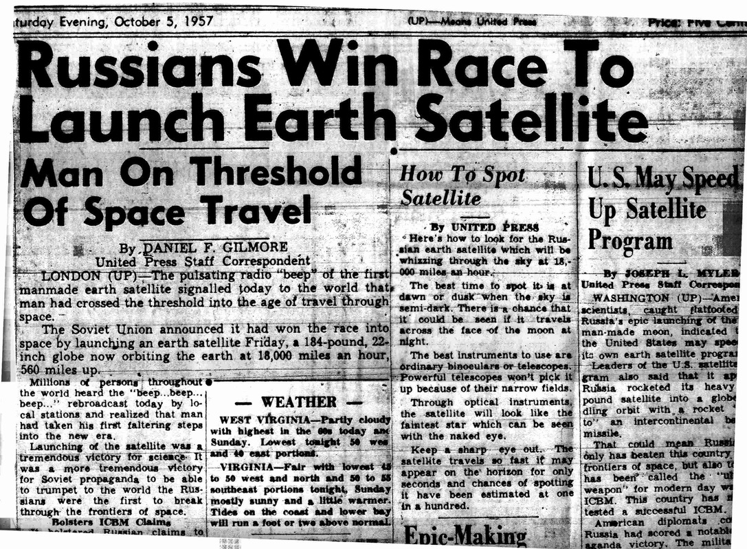 Image result for sputnik 1 launched